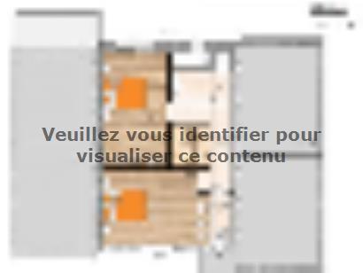 Plan de maison R119123-3GI 3 chambres  : Photo 2