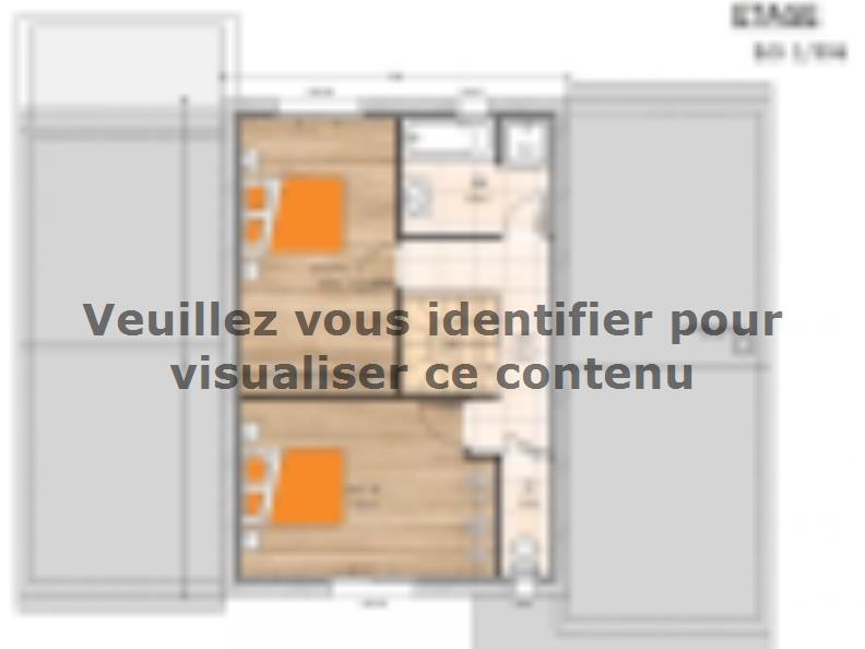 Plan de maison R119123-3GI : Vignette 2