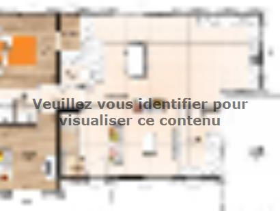 Plan de maison RCA20138-5B 5 chambres  : Photo 1