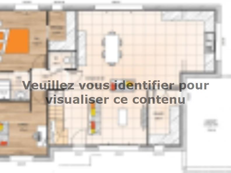 Plan de maison RCA20138-5B : Vignette 1