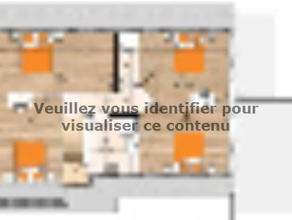 Plan de maison RCA20138-5B 5 chambres  : Photo 2
