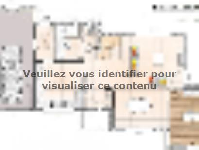 Plan de maison R120131-3BGA 3 chambres  : Photo 1