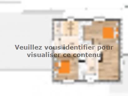 Plan de maison R120131-3BGA 3 chambres  : Photo 2