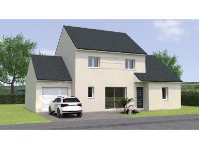 Modèle de maison R119118-4BGA 4 chambres  : Photo 1