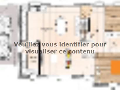 Plan de maison R119118-4BGA 4 chambres  : Photo 1