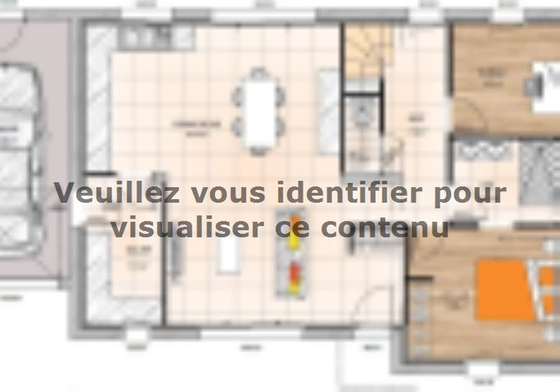 Plan de maison R119118-4BGA : Vignette 1