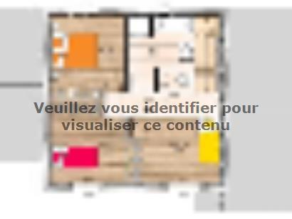Plan de maison R119118-4BGA 4 chambres  : Photo 2