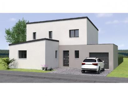 Modèle de maison R119125-4GA 4 chambres  : Photo 1