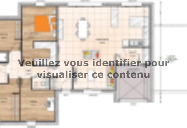Plan de maison PP1997-3BGI : Vignette 1