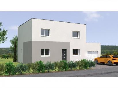 Modèle de maison R1TT19128-4GA 4 chambres  : Photo 1
