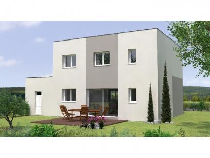 Modèle de maison R1TT19128-4GA 4 chambres  : Photo 2