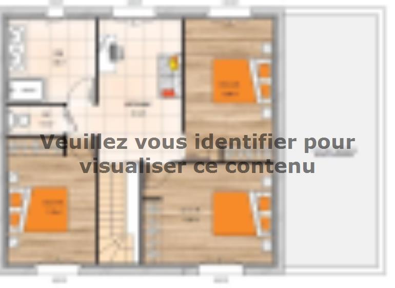 Plan de maison R1TT19128-4GA : Vignette 2