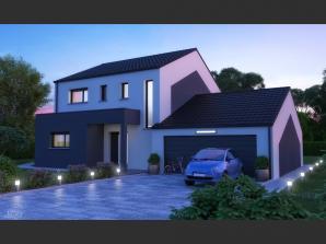 Maison neuve à Haucourt-Moulaine (54860)<span class='prix'> 319000 €</span> 319000