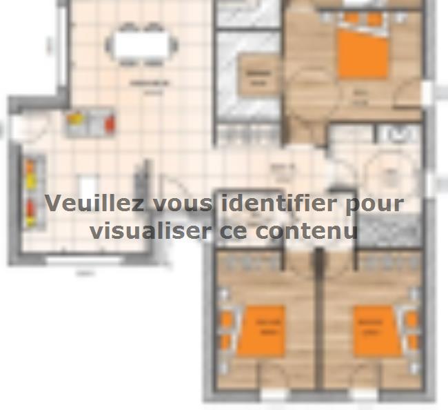 Plan de maison PP19115-3B : Vignette 1