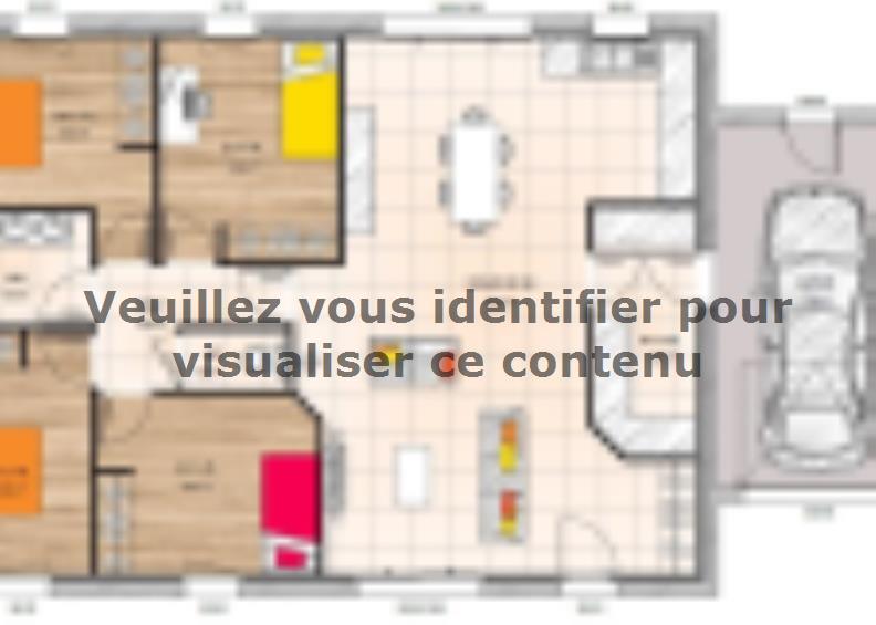 Plan de maison PP19102-4GA : Vignette 1