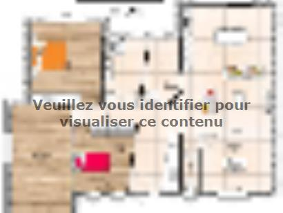 Plan de maison PP19120-3B 3 chambres  : Photo 1