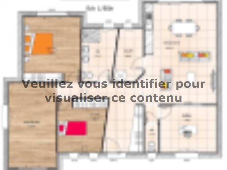Plan de maison PP19120-3B : Vignette 1