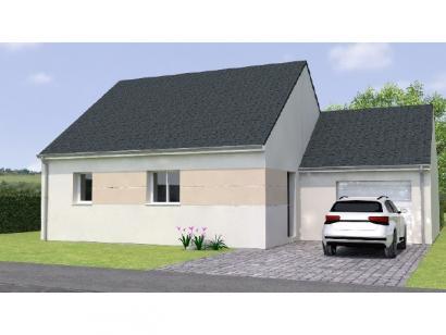 Modèle de maison PP1962-2GA 2 chambres  : Photo 1