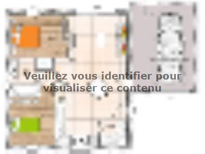 Plan de maison PP1962-2GA 2 chambres  : Photo 1