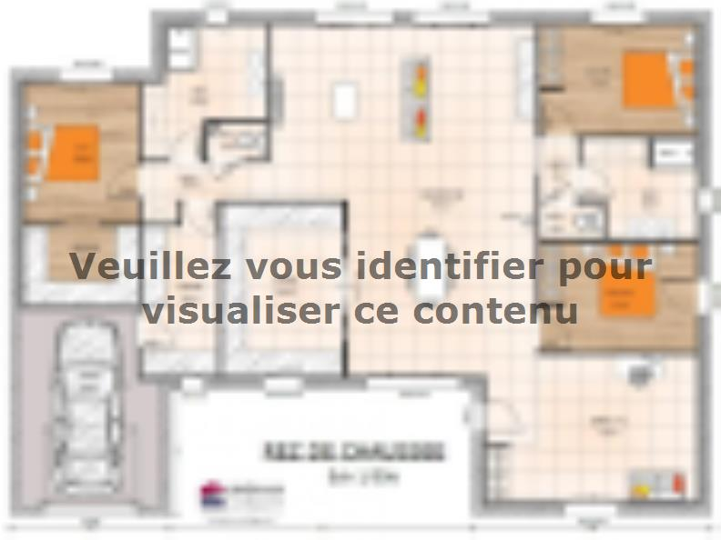 Plan de maison PP19155-3GI : Vignette 1