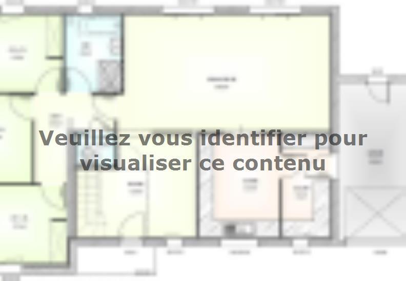 Plan de maison PP19120-3GA : Vignette 1