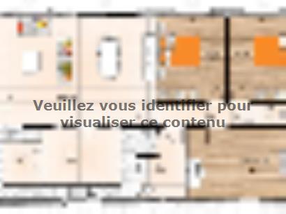 Plan de maison PP20103-3 3 chambres  : Photo 1