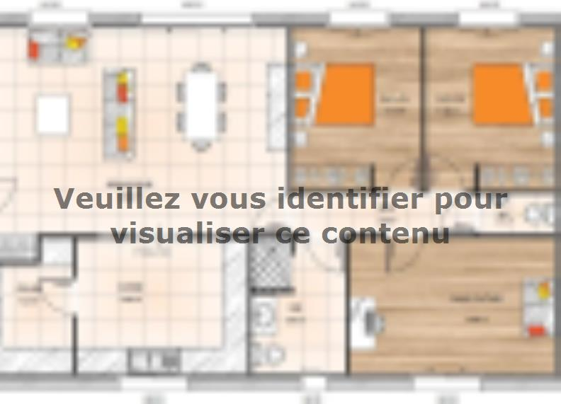 Plan de maison PP20103-3 : Vignette 1