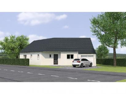 Modèle de maison PP20102-3GI 2 chambres  : Photo 1
