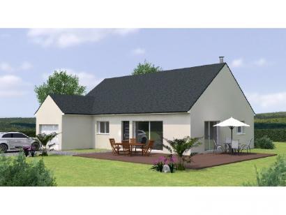 Modèle de maison PP20107-3GI 3 chambres  : Photo 1