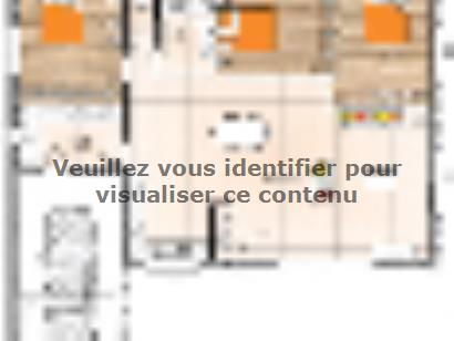 Plan de maison PP20107-3GI 3 chambres  : Photo 1