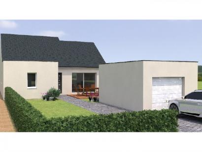 Modèle de maison PP1989-3GI 3 chambres  : Photo 1