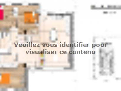 Plan de maison PP1989-3GI 3 chambres  : Photo 1