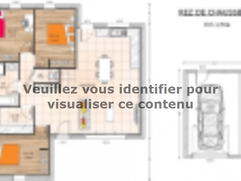 Plan de maison PP1989-3GI : Vignette 1