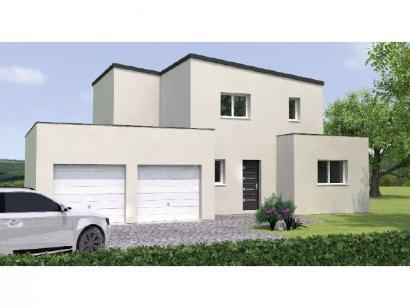 Modèle de maison R1MP19118-4GA 4 chambres  : Photo 1