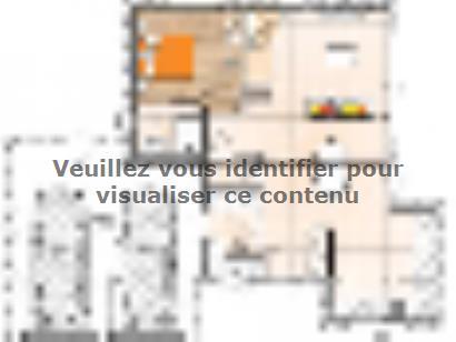 Plan de maison R1MP19118-4GA 4 chambres  : Photo 1