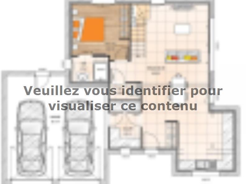 Plan de maison R1MP19118-4GA : Vignette 1