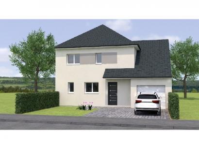 Modèle de maison R119115-4GI 4 chambres  : Photo 1