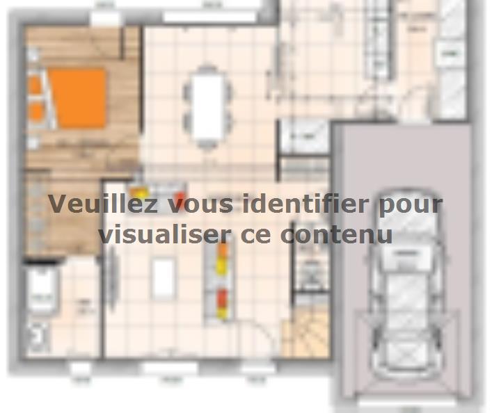 Plan de maison R119115-4GI : Vignette 1