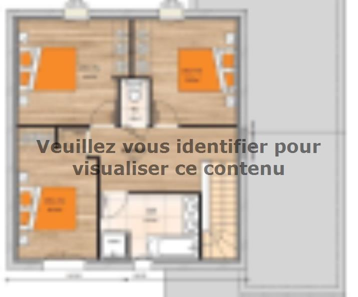 Plan de maison R119115-4GI : Vignette 2