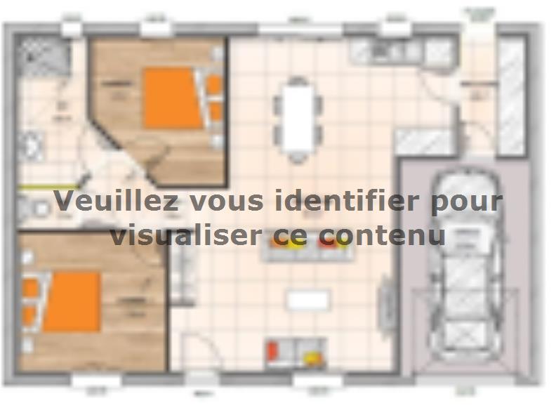 Plan de maison PP1974-2GI : Vignette 1
