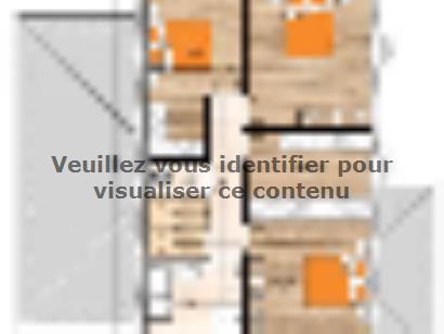 Plan de maison R119142-4 4 chambres  : Photo 2