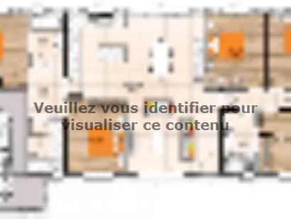 Plan de maison PP19121-5GI 5 chambres  : Photo 1