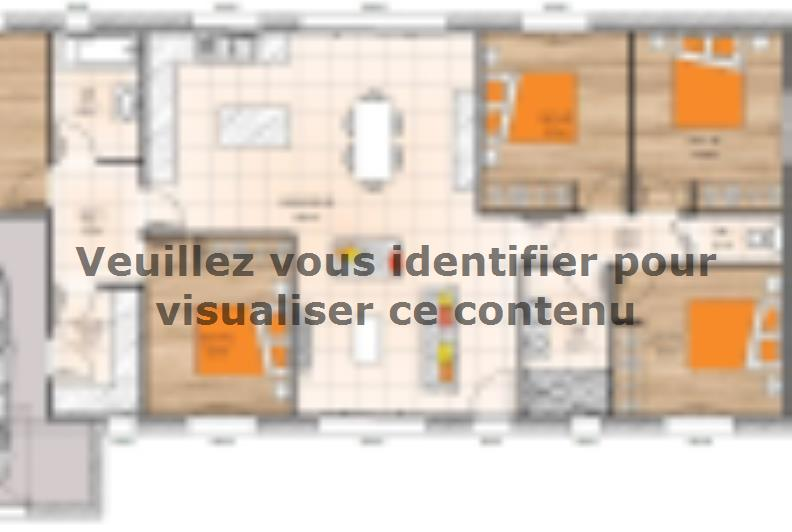 Plan de maison PP19121-5GI : Vignette 1