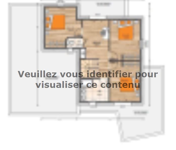 Plan de maison R1MP19150-4GI : Vignette 1