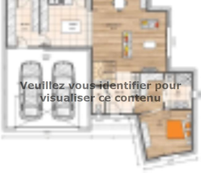 Plan de maison R1MP19150-4GI : Vignette 2