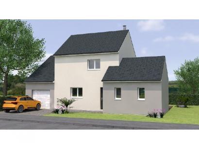 Modèle de maison R119102-3GI 3 chambres  : Photo 1