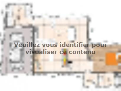 Plan de maison R119102-3GI 3 chambres  : Photo 1