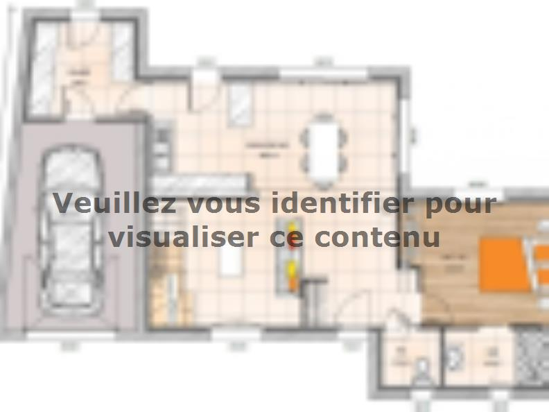 Plan de maison R119102-3GI : Vignette 1