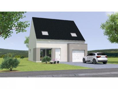 Modèle de maison RCA1898-3GI 3 chambres  : Photo 1