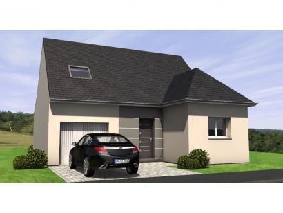 Modèle de maison RCA1891-3GI 3 chambres  : Photo 1